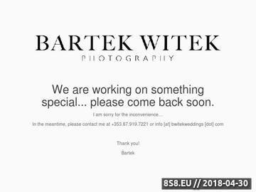 Zrzut strony Reportaż ślubny | Fotografia ślubna | Zdjęcia ślubne | Bartek Witek