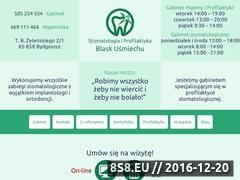 Miniaturka Stomatolog z Bydgoszczy (bydgoszcz-stomatolog.pl)