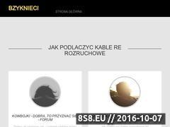 Miniaturka domeny bzyknieci.pl