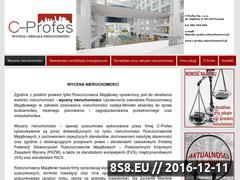 Miniaturka domeny c-profes.nieruchomosci.pl