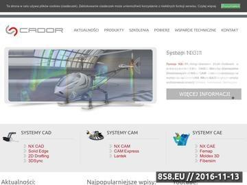 Zrzut strony Systemy CAD CAM CAE