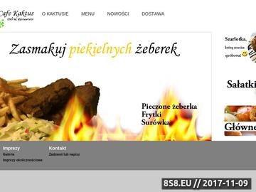 Zrzut strony Cafe Kaktus - Tarchomin - Catering, Obiady, Przyjecia okazjonalne