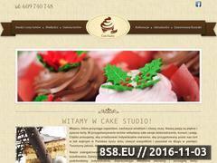 Miniaturka domeny cakestudio.pl