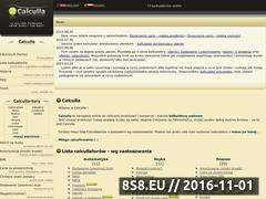 Miniaturka domeny calculla.pl
