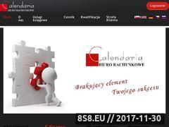Miniaturka calendaria.com.pl (Usługi księgowe w Opolu)