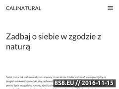Miniaturka domeny www.calinatural.pl