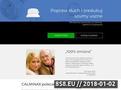 Miniaturka domeny calminax.com.pl