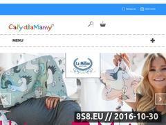 Miniaturka domeny www.calydlamamy.pl