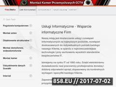 Miniaturka cam-tech.pl (Firma oferująca zabezpieczenia dla domu i firmy)