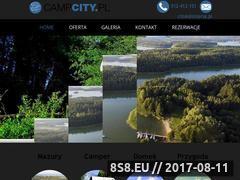Miniaturka campcity.pl (Wynajem campera i domku letniskowego, Wilkasy)