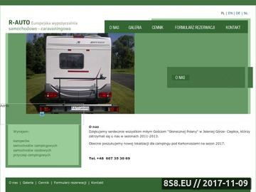 Zrzut strony Słoneczna Polana - Camping nr 164 - Camping Polen