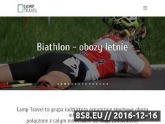 Miniaturka Obozy sportowe - młodzieżowe (camptravel.com.pl)