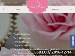 Miniaturka Produkcja tortów okolicznościowych w Warszawie (www.candycakes.pl)