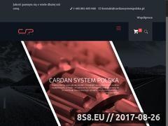 Miniaturka cardansystempolska.pl (Części do wałów)