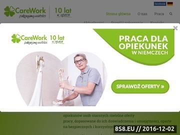 Zrzut strony Praca dla opiekunek w Niemczech