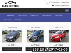 Miniaturka Wypożyczalnia samochodów osobowych i dostawczych (www.carforyou.com.pl)