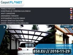 Miniaturka domeny www.carportplanet.pl
