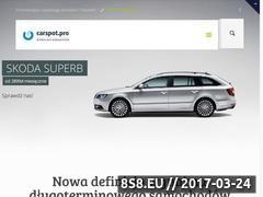 Miniaturka Długoterminowy wynajem aut (carspot.pro)