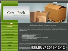 Miniaturka domeny www.cart-pack.pl