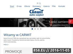 Miniaturka domeny carwit.pl