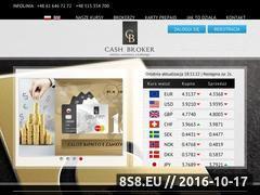 Miniaturka www.cashbroker.com (Kantor wymiany walut)