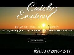 Miniaturka domeny catchemotion.pl