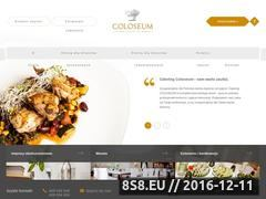 Miniaturka domeny www.catering.hotelcoloseum.pl