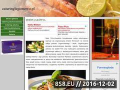 Miniaturka domeny www.cateringlegionowo.pl