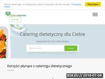 Zrzut strony Polskie cateringi dietetyczne