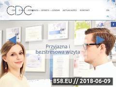 Miniaturka cdcstomatologia.pl (Usługi stomatologiczne)