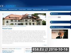 Miniaturka domeny www.ce-expert.pl