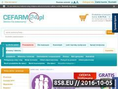 Miniaturka domeny www.cefarm24.pl