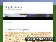 Miniaturka Blog biznesowy (ceidg-1.pl)
