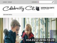 Miniaturka Sklep z ekskluzywną odzieżą dziecięcą (celebrity-club.pl)