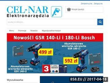 Zrzut strony Sklep CELNAR Lublin Elektronarzędzia dla profesjonalistów i majsterkowiczów.