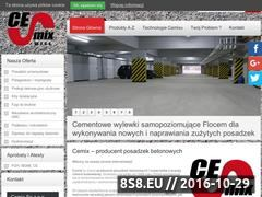 Miniaturka domeny cemix.com.pl