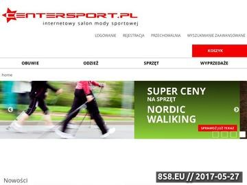 Zrzut strony Centersport: Buty Adidas, Nike, Puma, Fruit of the Loom