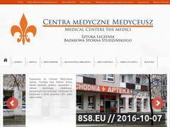 Miniaturka domeny www.centramedycznemedyceusz.pl
