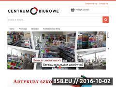 Miniaturka domeny www.centrum-biurowe.pl