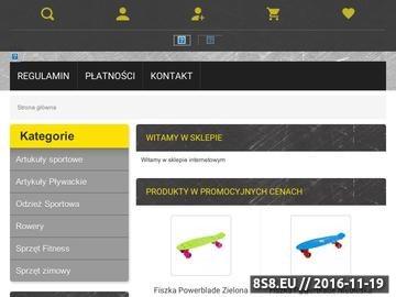 Zrzut strony Sklep Sportowy Rzeszów - sklepy sportowe Rzeszów, bagażniki samochodowe, bagażnik