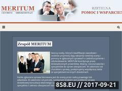 Miniaturka domeny centrum-meritum.pl