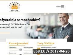 Miniaturka domeny centrum-rentacar.pl