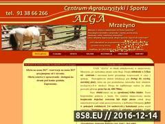 Miniaturka domeny centrumalga.pl