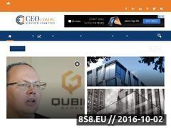 Miniaturka ceo.com.pl (Portal skierowany do kadry menedżerskiej)