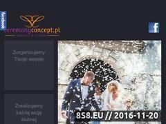Miniaturka domeny ceremonyconcept.pl