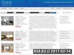 Miniaturka domeny www.certe.pl