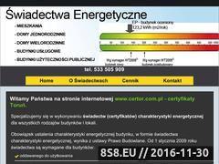 Miniaturka domeny certor.com.pl
