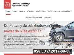 Miniaturka cewik.pl (Odkup odszkodowań)