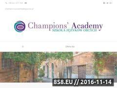 Miniaturka domeny champions-academy.pl