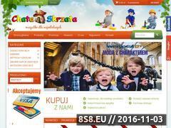 Miniaturka domeny chataskrzata.eu